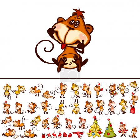 Set 2016 monkey