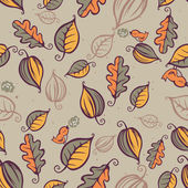 Forest pattern seamless vector illustration