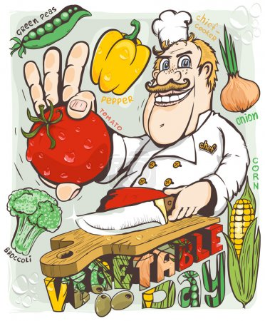 Chef vegetable day