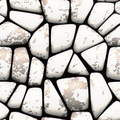 Seamless stone pebbles with natural effect pattern