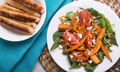 Pečená dýně salát