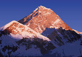 Mount Everest vector world's highest mountain in the Himalaya Nepal