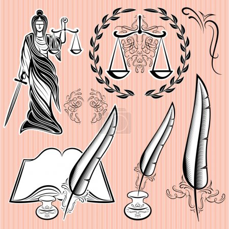 set of design elements for law