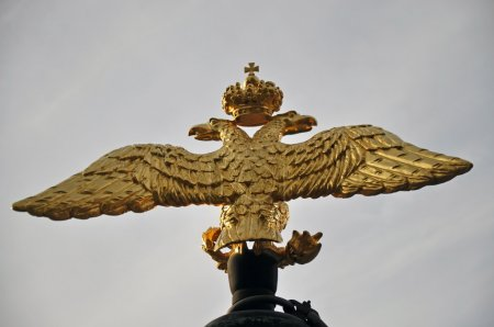 The double-headed Russian eagle