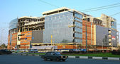 Výstavba nového obchodního centra v Nižném Novgorodu