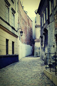 Old street in Poland.
