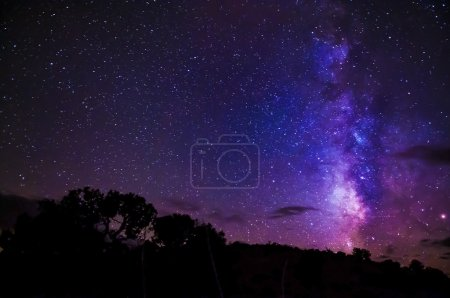 Photo for Beautiful Starry Sky with a Milky Way - Royalty Free Image