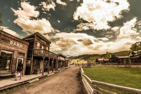 Photo pour Legends Ranch de Hag du Colorado Ouest Rodeo Ridgway - image libre de droit