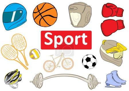Clipart sports attributes