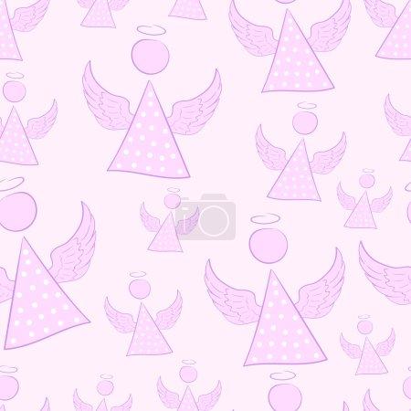 Seamless female angels