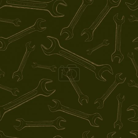 Seamless contours of wrenches