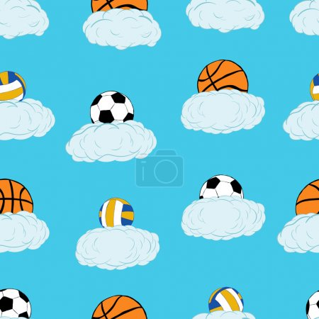 Seamless balls in clouds