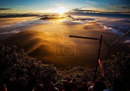 Photo for Amazing sunrise seen from Sri Pada - Royalty Free Image