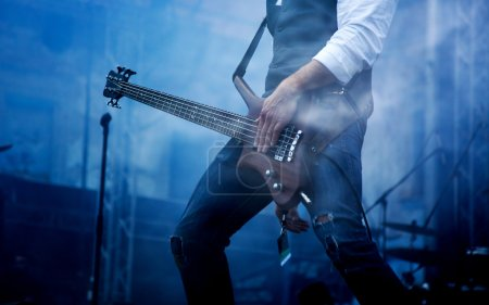 Photo for Guitarist on stage - Royalty Free Image