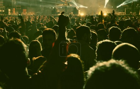 Photo for Crowd at concert - Royalty Free Image