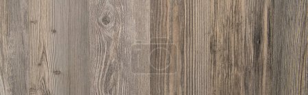 top view of taupe, wooden textured background, top view, banner