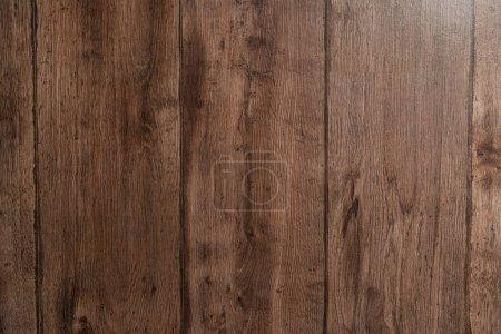 dark brown, natural wooden surface textured background, top view