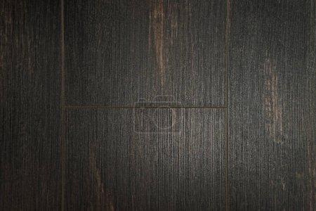 fondo de suelo de madera marrón oscuro, vista superior