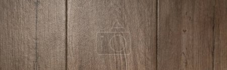 taupe, wooden surface background, top view, banner