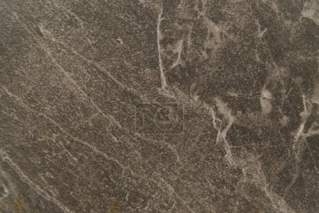 grey stone with streaks, textured background, top view