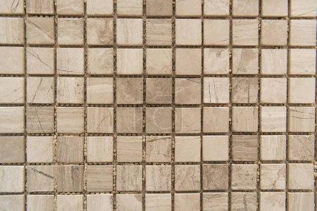 Photo pour Petit, fond de tuiles de marbre, vue de dessus - image libre de droit