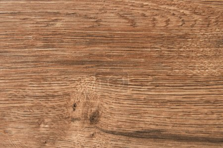 Photo pour Fond brun, surface texturée en bois, vue sur le dessus - image libre de droit