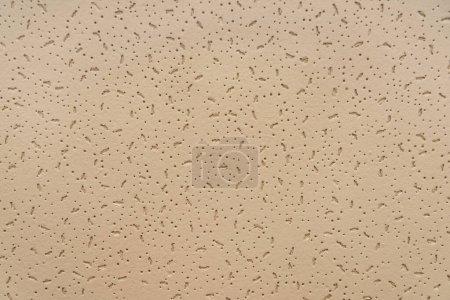 Photo pour Beige, fond texturé gaufré, vue sur le dessus - image libre de droit