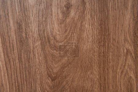 Photo pour Fond de plancher stratifié texturé en bois, vue de dessus - image libre de droit