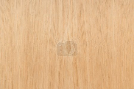 Photo for Pale brown, textured wooden surface background, top view - Royalty Free Image