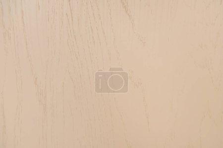 Photo pour Fond brun pastel, surface stratifiée en bois, vue sur le dessus - image libre de droit