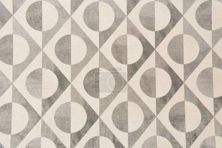 gris et blanc, fond abstrait, avec cercles et lignes, vue de dessus