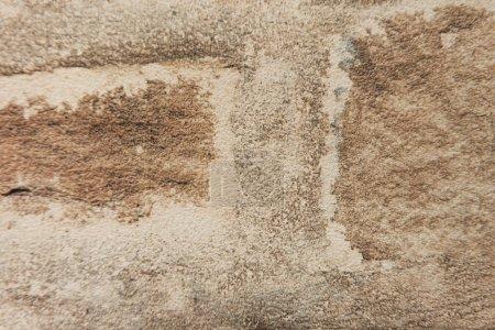 Photo pour Arrière-plan avec surface d'imitation de pierre brute, vue de dessus - image libre de droit