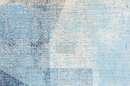 Photo pour Toile peinte en bleu pastel fond texturé, vue de dessus - image libre de droit