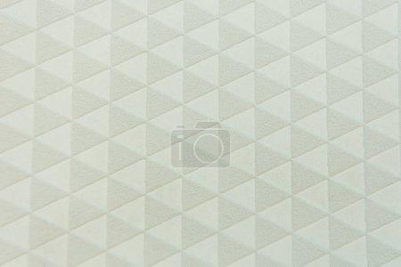 Photo pour Triangles gris fond de motif sans couture, vue de dessus - image libre de droit