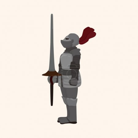 knight theme elements vector,eps