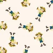 scout seamless pattern