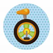circus unicycle theme elements