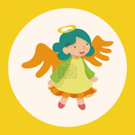 Illustration pour Illustration vectorielle, élément icône de dessin animé. - image libre de droit