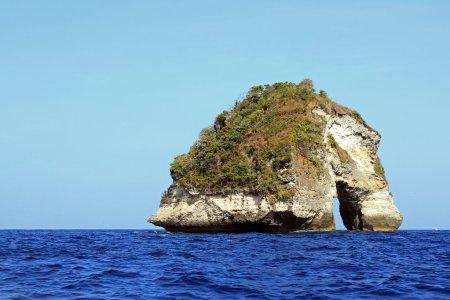 Nusa Banah Arch Rock