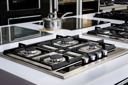 Brand new never used gas stove with stainless tray...