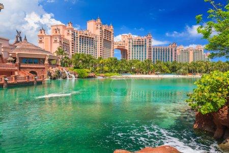 Photo pour Hôtel Atlantis sur Paradise Island à Nassau, Bahamas . - image libre de droit