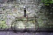 Old bike in Bunratty village, Ireland
