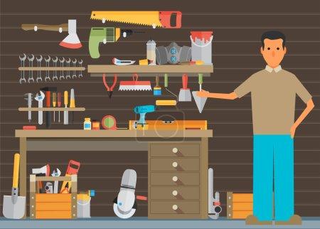 Workspace carpenter tools