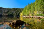 Black Lake, the Largest natural lake in the National park Sumava