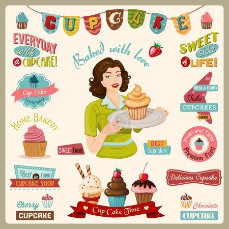 Cupcake Design Elements
