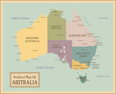 Australia-highly detailed map