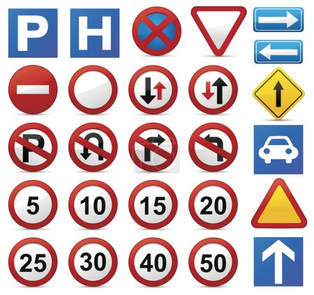 Road Sign set