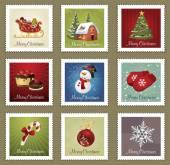 Collections of Christmas Postmarks