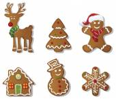 christmas Gingerbreads set