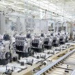 Production line for manufacturing of the engines i...